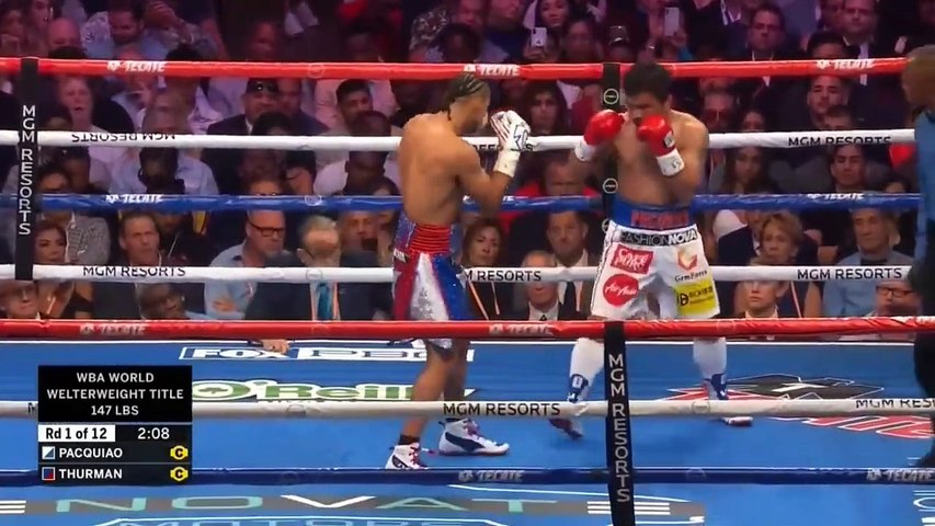 Manny Pacquiao vs. Keith Thurman Full Fight HD 2019