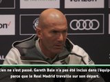 """Transferts - Zidane : """"Le Real travaille sur le départ de Bale"""""""