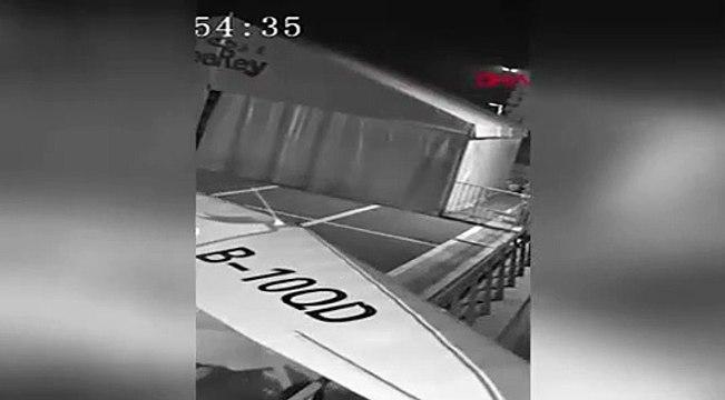 13 yaşındaki çocuk, çaldığı uçağı uçurmaya çalıştı