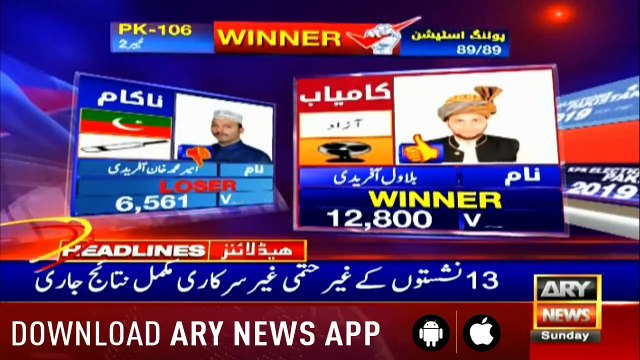 Headlines ARYNews 1500  21st July 2019