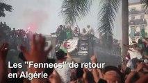 Algérie/CAN 2019: les champions acclamés par une immense foule