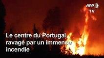 Portugal : plus de mille pompiers luttent contre des feux de forêt
