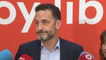 """Cs dice que PSOE y Podemos """"siguen peleando por sillas"""""""
