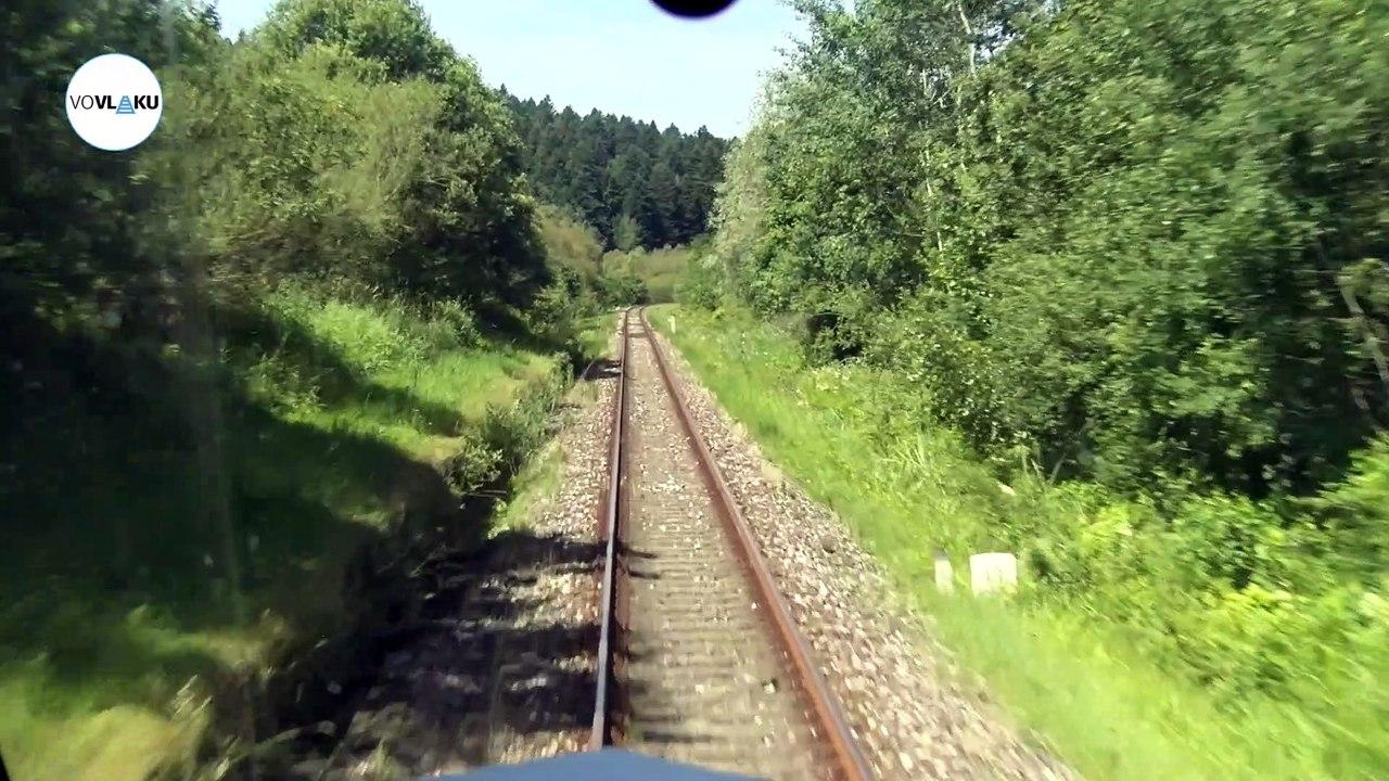 UNIKÁTNY VLAKOVÝ VIDEOPROJEKT: Z poľských hraníc do Popradu-Tatier