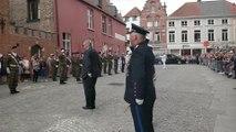 Le prince Laurent au Te Deum à Bruges