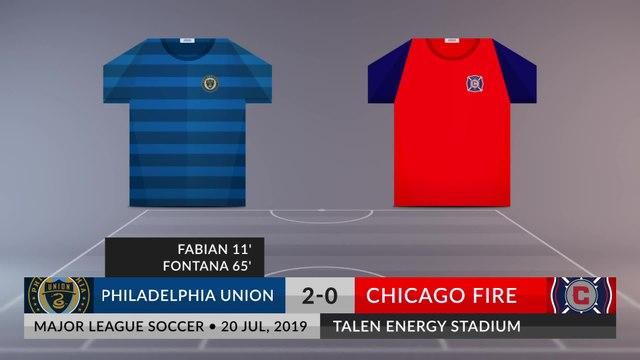 Match Review: Philadelphia Union vs Chicago Fire on 20/07/2019