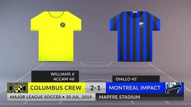 Match Review: Columbus Crew vs Montreal Impact on 20/07/2019