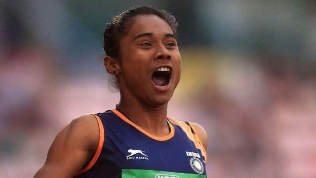 Sprinter Hima Das gets fifth gold medal for India in a month | वनइंडिया हिंदी