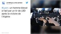Lyon : Un homme blessé à l'oeil en marge de la liesse après la victoire de l'Algérie