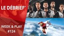 Débrief' : Switch améliorée, du neuf pour Marvel et FIFA/PES 2020