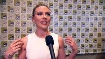 Scarlett Johansson Talks 'Black Widow' Solo Movie At San Diego Comic-Con