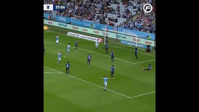 Anders Christiansen amazing scorpion kick goal - Malmö FF [1] - 1 Sirius