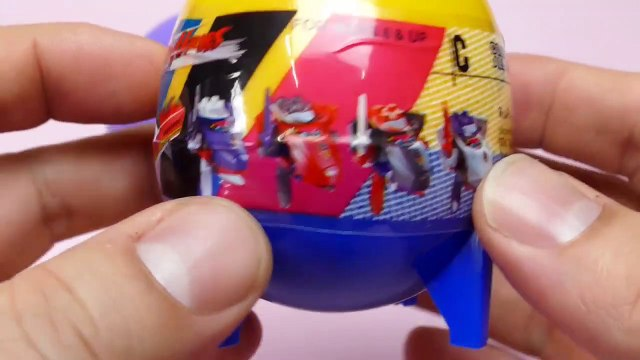 Train Heroes Surprise Egg Rockets with Toys
