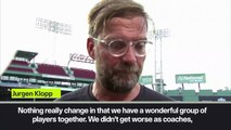 """(Subtitled) """"The boys are back"""" says Klopp as Liverpool prepare to face Sevilla"""