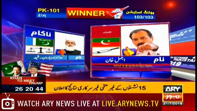 NEWS@6 |  ARYNews | 21 July 2019