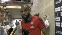 Lacazette enjoying deeper role with two-goal Nketiah