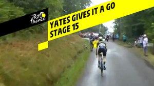 Yates gives it a go / Yates tente le tout pour le tout - Étape 15 / Stage 15 - Tour de France 2019