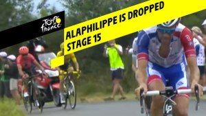 Alaphilippe lâché / Alaphilippe is dropped - Étape 15 / Stage 15 - Tour de France 2019