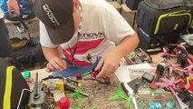 Manche coupe du monde course de drones Gouy