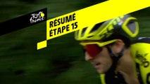 Résumé - Étape 15 - Tour de France 2019