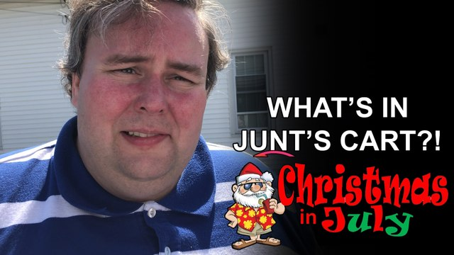What's in Junt's Cart? - Christmas in July Church Fair