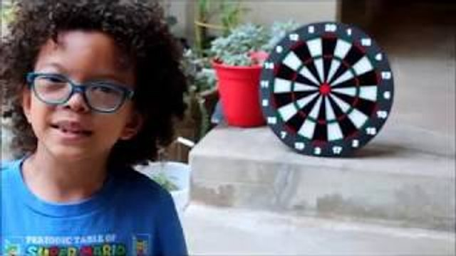 Safety Dart Board by INNOCHEER For Kids And Adults