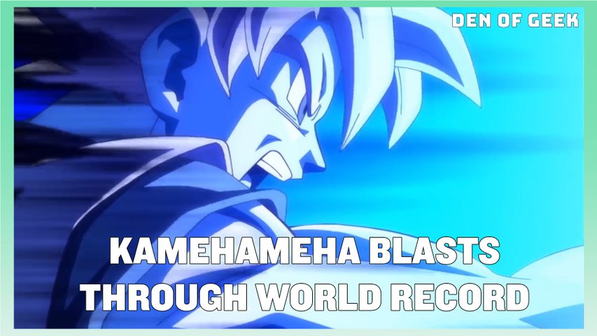 SDCC 2019's Dragon Ball World Adventure Activation - Guinness Record For World's Largest Kamehameha