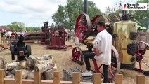 VIDEO. A Châtillon-sur-Cher, la Fête de la moisson fait place au travail du bois
