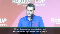 Valverde and Bartomeu kick-start Japan tour