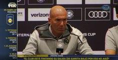"""Central FOX: """"Si es mañana (la venta de Gareth Bale) mejor"""", Zidane"""