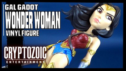 Cryptozoic Entertainment Wonder Woman (Gal Gadot) Vinyl Figure Review