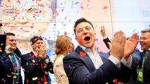 Zelenski gana las legislativas en Ucrania con un 44% de los votos según los sondeos a pie de urna