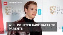Will Poulter And His BAFTA