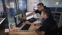 Gard : les pompiers en alerte face au risque d'incendie