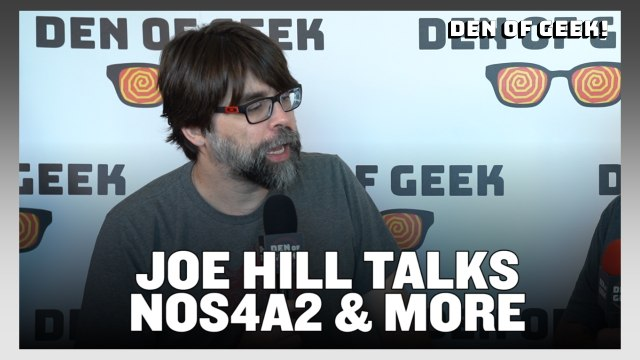 Writer Joe Hill on AMC's NOS4A2 | SDCC 2019 Interview
