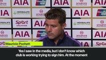 (Subtitled) 'I don't know if we're signing Bale' - Pochettino