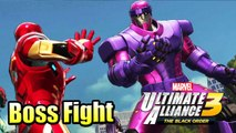 Marvel Sentinel Boss Fight — Marvel Ultimate Alliance 3