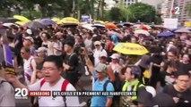 Hong Kong : des civils s'en prennent aux manifestants