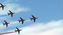 LE CAP D'AGDE - La Patrouille de France a proposé un meeting aérien spectaculaire !