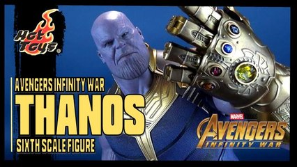 Hot Toys Avengers Infinity War Thanos Sixth Scale Figure Review