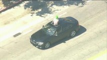 Man dressed as Joker leads California police on wild chase