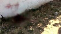 Kafası taşla ezilerek öldürülen kişinin şüpheli komşusu aranıyor
