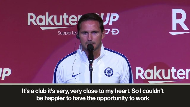 (Subtitled) 'Chelsea a club very, very close to my heart' – Lampard on coaching the 'Blues'