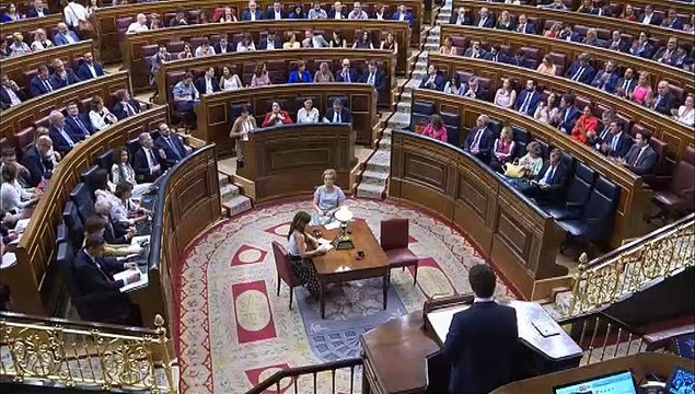 """Casado: """"Señor Sánchez, dos horas de discurso para no decir nada"""""""