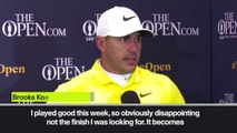 (Subtitled) Koepka reflects on 'unbelievable' Shane Lowry