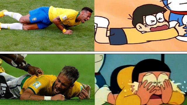 How About Soccer Players Look Like Cartoon Characters