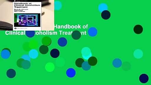[BEST SELLING]  Handbook of Clinical Alcoholism Treatment