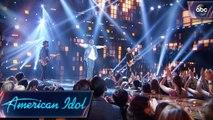 """Michael J. Woodard Sings """"Flat On The Floor"""" by Carrie Underwood - Top 5 - American Idol 2018 on ABC"""