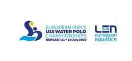 Men's U15 European Water Polo Championship - BURGAS 2019 - DAY 2