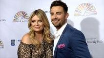 Mischa Barton, Jonathan Bennett 2019 Flaunt It Awards Red Carpet